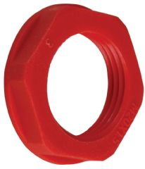 CONCORDIA TECHNOLOGIES APLNM20RED  Locknut M20 Red 10 / Pack